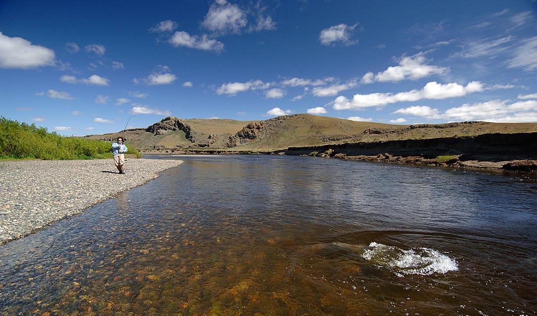 Fishing in rio gallegos argentina for Jardin 17 rio gallegos